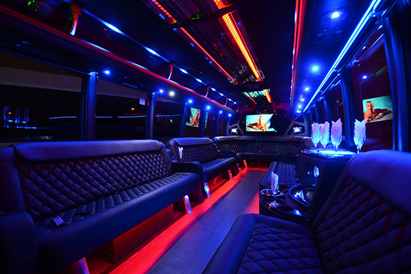 40 Person Party Bus Rental San Diego