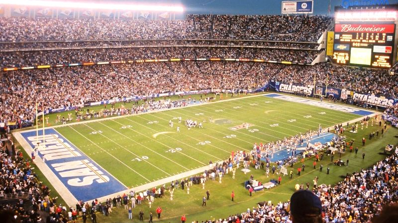 Party Bus Service San Diego Chargers Qualcomm Stadium